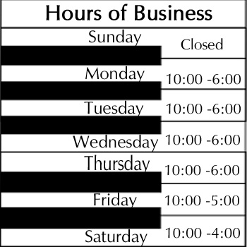 Hours of Business 2