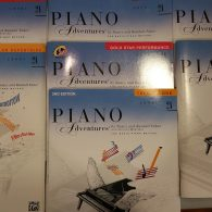 Piano Adventures 2a bundle