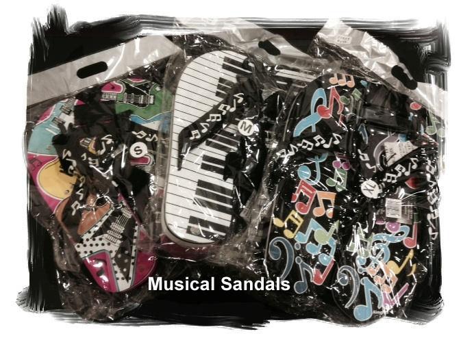 Musical Sandals