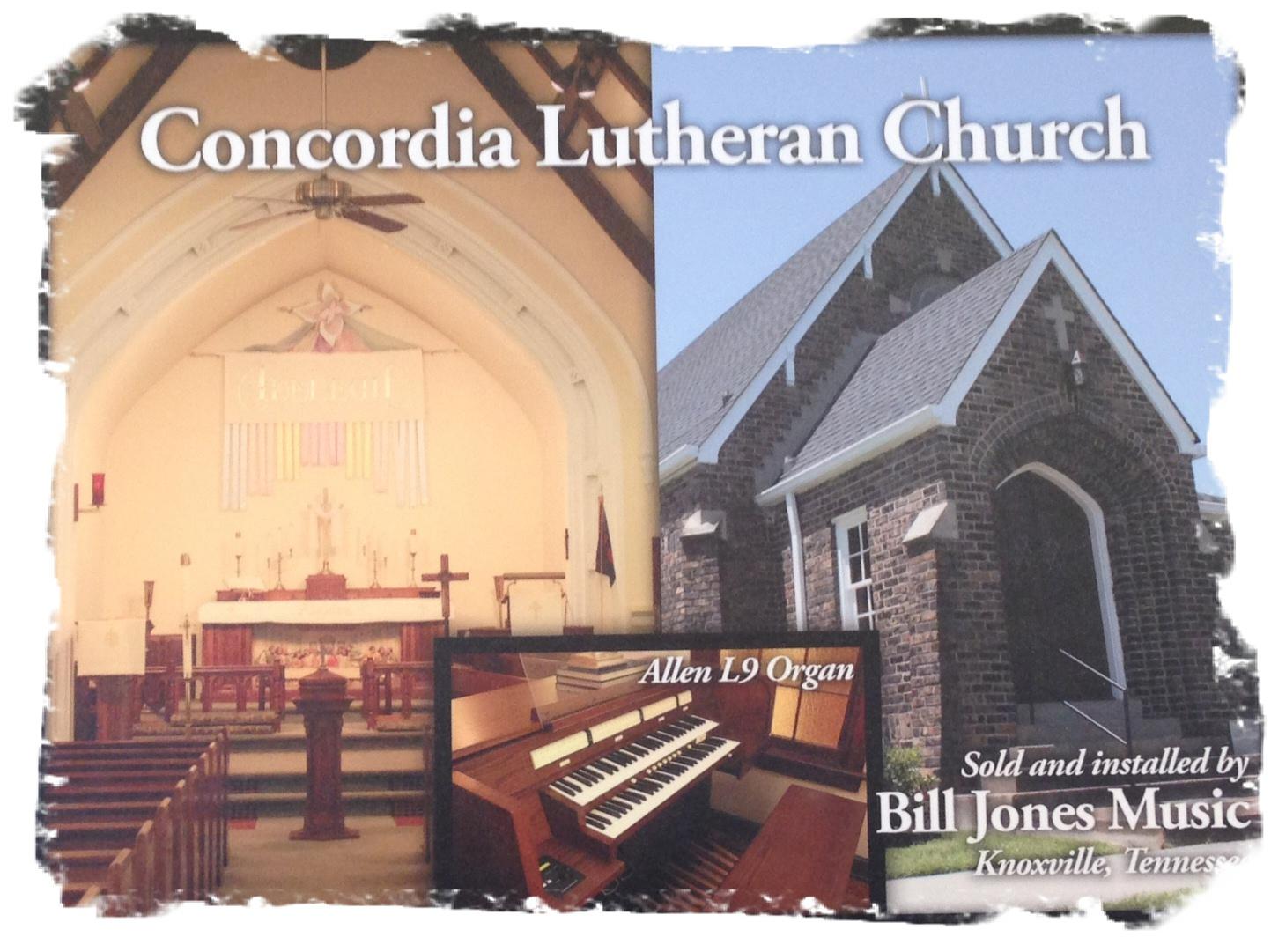 Concordia Lutheran Church Allen L9 Organ