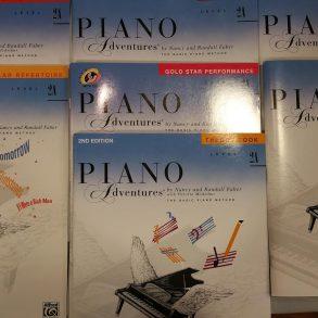 Piano Adventures 2a bundle