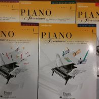 Piano Adventures 4 Bundle