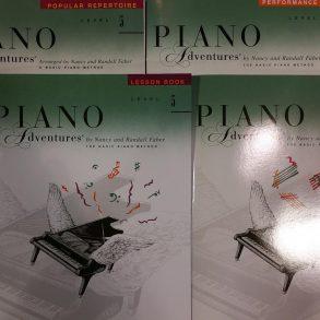 Piano Adventures 5 bundle