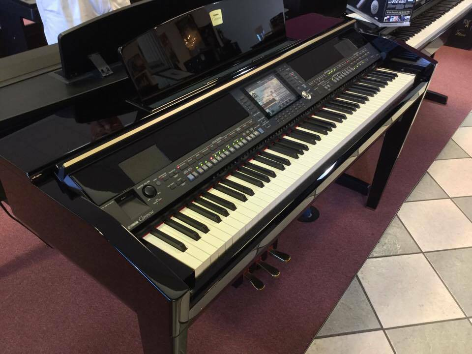 Pre owned yamaha cvp 509pe digital piano bill jones music for Yamaha music school locations