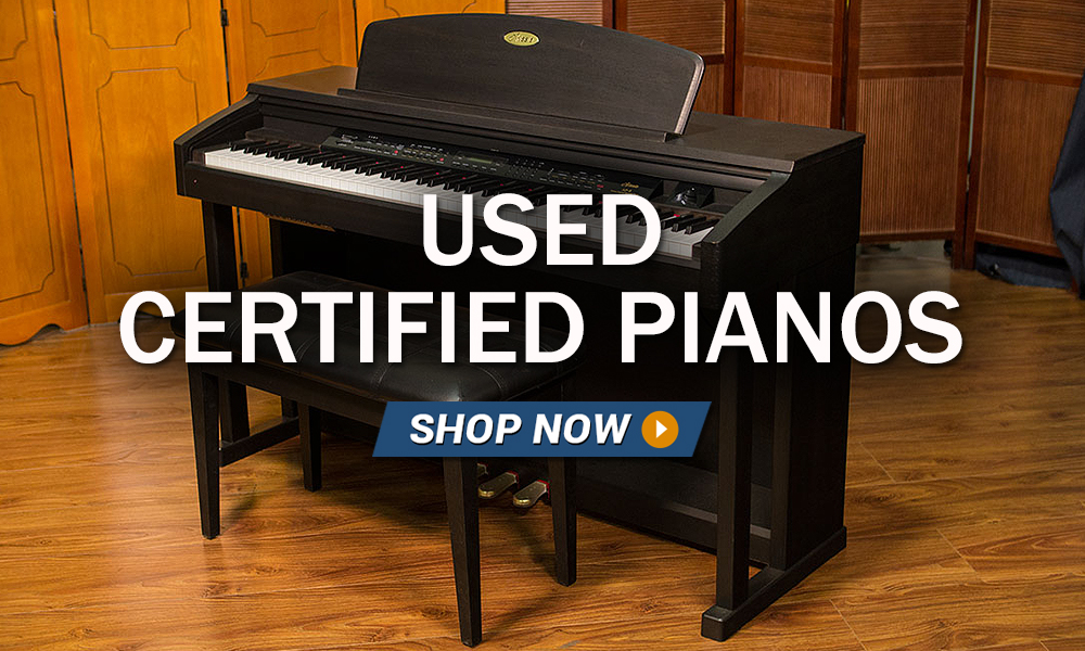 Used Certified Pianos Bill Jones