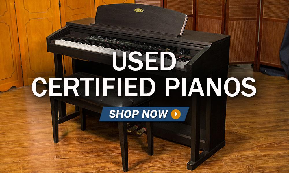 Used Certified Pianos Bill Jones